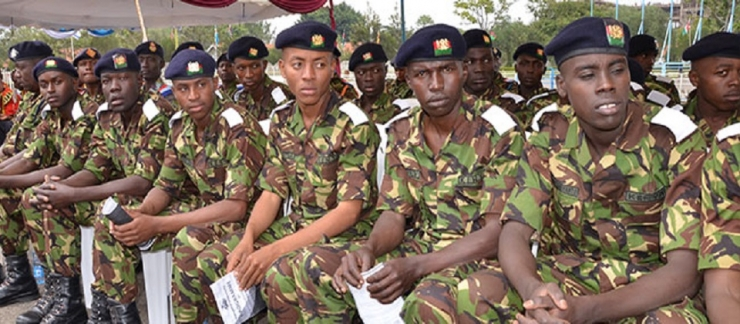 SECOND MATRICULATION CEREMONY OF KENYA PRISONS SERVICE RECRUITS