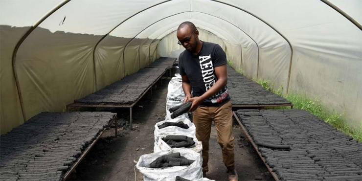 KU Economics graduate lands hefty pay in eco-charcoal