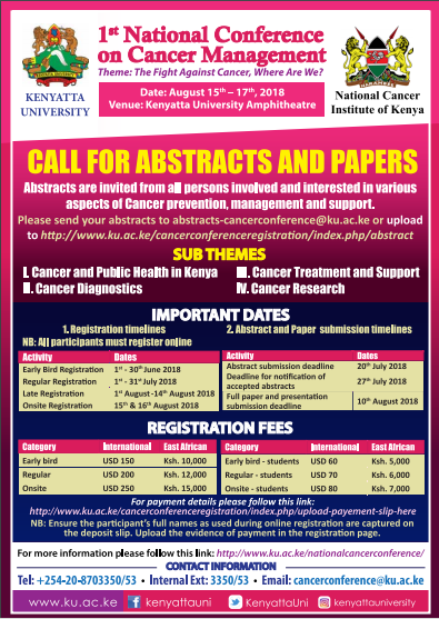 KU National Cancer Conference Poster