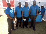 VC Professor Paul K. Wainaina and the entire KU team during the Molo Constituency Career Fair Day at Molo Town in March 2019
