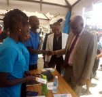 VC Professor Paul K. Wainaina and the entire KU team during the Molo Constituency Career Fair Day at Molo Town in March 2019 7