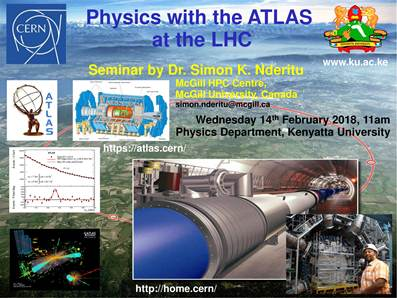 PHYSICS WITH ATLAS AT THE LHC 2018