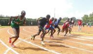 Athletics in action